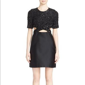 3.1 PHILLIP LIM Sequin Embellished Cutout Dress 10